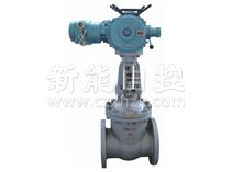 Electric gate valve for MZ mine