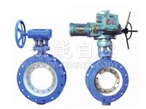 Natural gas butterfly valve for MWSD mine